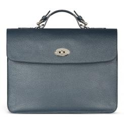 Небольшой мужской портфель с одним отделением из натуральной кожи от Avanzo Daziaro, арт. 018 213003