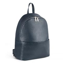 Женский стильный рюкзак из мягкой телячьей кожи с приятной фактурой и легким глянцем от Avanzo Daziaro, арт. 018 101103