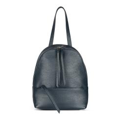 Стильный женский рюкзак из натуральной кожи с длинной ручкой и ремнями от Avanzo Daziaro, арт. 018 101303