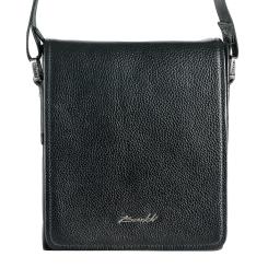 Небольшая мужская сумка, позволяющая держать важные вещи под рукой от Barkli, арт. 3424B 03 black Br