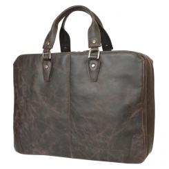 Вместительная деловая кожаная сумка для документов и ноутбука 15,6 от Carlo Gattini, арт. 1002-02