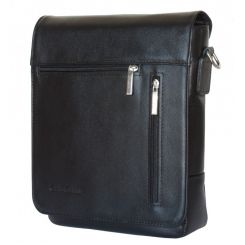 Стильная сумка планшет из натуральной кожи для мужчин от Carlo Gattini, арт. 5009-01