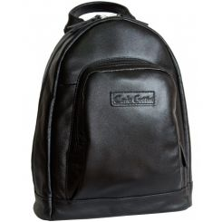 Черный женский рюкзак из натуральной кожи, модель формата А4 от Carlo Gattini, арт. 3002-01