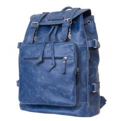 Стильный мужской кожаный рюкзак для ноутбука 15,6 дюймов от Carlo Gattini, арт. 3004-07