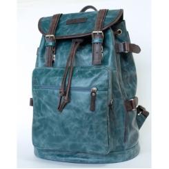Мужской рюкзак большого размера с одним отделением из натуральной кожи от Carlo Gattini, арт. 3004-12