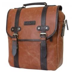 Мужской рюкзак из натуральной высококачественной итальянской кожи от Carlo Gattini, арт. 3005-03