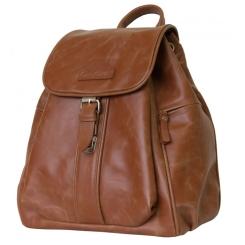 Коричневый классический кожаный рюкзак из натуральной кожи от Carlo Gattini, арт. 3008-03