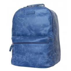 Кожаный рюкзак с двумя отделениями для ноутбука и документов от Carlo Gattini, арт. 3009-07