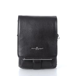 Маленькая мужская сумка с двумя отделениями и съемным плечевым ремнем от Dor. Flinger, арт. 3180 029 dunkel kaffeeDF