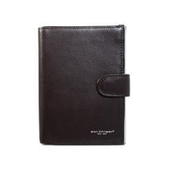Популярная мужская обложка темно-коричневого цвета для документов и визиток от Dor. Flinger, арт. 0099 12 coffee DF