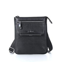 Модная сумка планшет из натуральной кожи черного цвета от Dor. Flinger, арт. 34880 027 schwarz DF