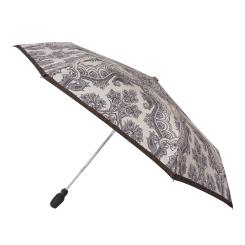 Зонт с маленьким куполом из эпонжа, изготовленный специально для женщин от Fabretti, арт. T-16115