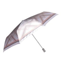 Женский зонт с куполом из полиэстера, украшенным рисунком из линий от Fabretti, арт. L-16104-20