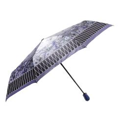 Женский зонт с куполом из полиэстера, украшенным цветами от Fabretti, арт. S-16101-2