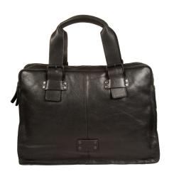 Мужская повседневная сумка для ноутбука из натуральной кожи от Gianni Conti, арт. 1131411 black