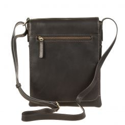 Мужская сумка через плечо из натуральной кожи, подходит для планшетов 10.1 и iPad от Gianni Conti, арт. 1222344 black