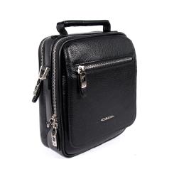 Вместительная мужская сумка с двумя обособленными отделениями от Giorgio Ferretti, арт. 170 008 nero GF