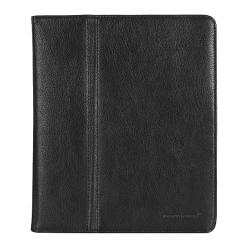 Практичный кожаный чехол-подставка для планшетов iPad от Giorgio Ferretti, арт. 3462 008 black GF