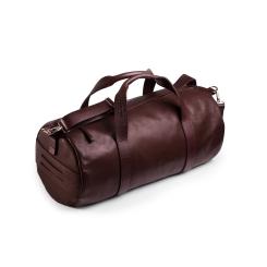 Мужская дорожная сумка из натуральной кожи коричневого цвета для путешествий и фитнеса от Long River, арт. DF-010