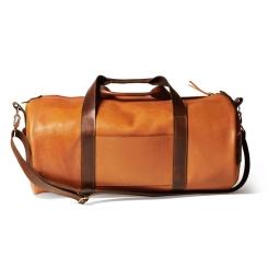 Рыжая мужская дорожная сумка из натуральной кожи для путешествий и фитнеса от Long River, арт. DF-030