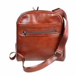 Коричневая мужская сумка планшет из натуральной кожи для iPad и 10.1 от Sergio Belotti, арт. 9304 milano brown