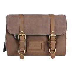 Мужской ретро несессер светло коричневого цвета от Ashwood Leather, арт. 7010 Mud