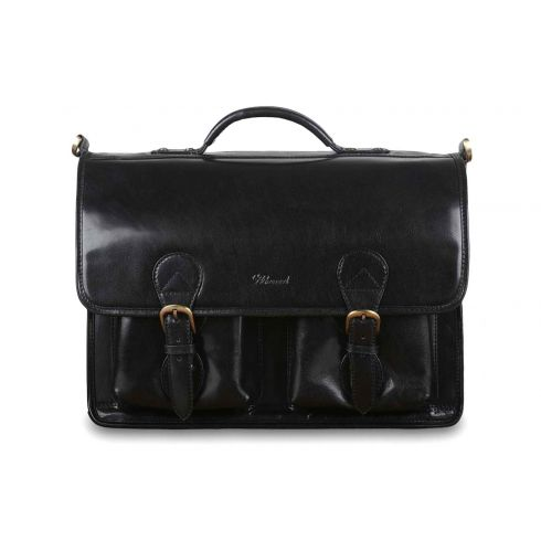 Портфель Ashwood Leather 8190 Black