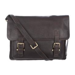 Английская мужская сумка из натуральной кожи для документов от Ashwood Leather, арт. Josh Dark Brown