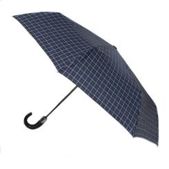 Темно-синий складной мужской зонт от Flioraj, арт. 31005 FJ