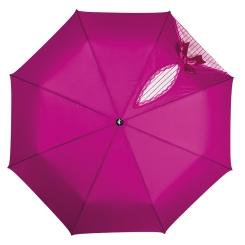 Яркий фиолетовый зонт с проявляющимся рисунком для женщин от Flioraj, арт. 20002 FJ