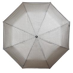 Элегантный белый зонт с удобной пластиковой ручкой от Flioraj, арт. 22001 FJ