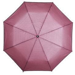 Яркий розовый зонт с двухслойным куполом, модель для женщин от Flioraj, арт. 22003 FJ