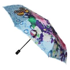 Удобный небольшой зонт с многоцветным куполом для женщин от Flioraj, арт. 231212 FJ