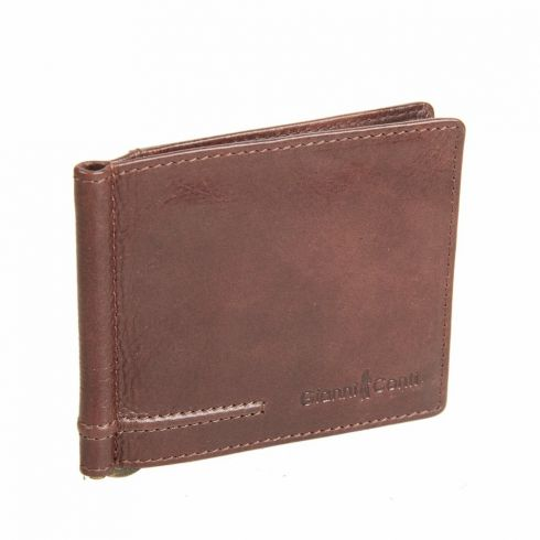 Зажим для купюр Gianni Conti 707466 brown