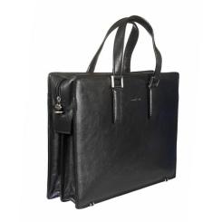 Мужская сумка с тремя отделами и отсеком для ноутбука от Gianni Conti, арт. 911248 black