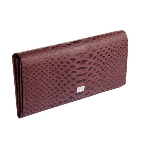 Кошелек Mano 20150 Croco brown