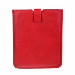 Стильный и яркий чехол из натуральной кожи для планшетов iPad от Picard, арт. 8111 rot