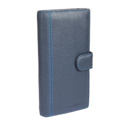 Мужское портмоне с практичными внешними и внутренними карманами от Sergio Belotti, арт. 3285 indigo jeans