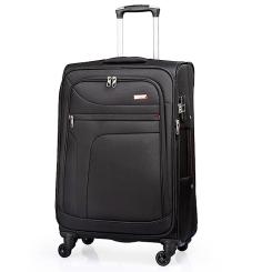 Дорожный чемодан черного цвета большой вместительности от Verage, арт. GM14086w28 black