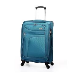 Вместительный дорожный чемодан из прочнейшего материала от Verage, арт. GM14086w28 blue