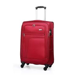 Дорожный чемодан с большим внутренним отделением и несколькими карманами от Verage, арт. GM14086w28 red