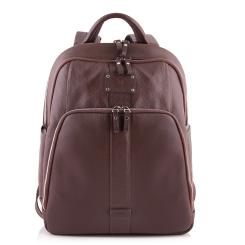 Большой и вместительный рюкзак с двумя широкими заплечными ремнями от Versado, арт. VD015 brown
