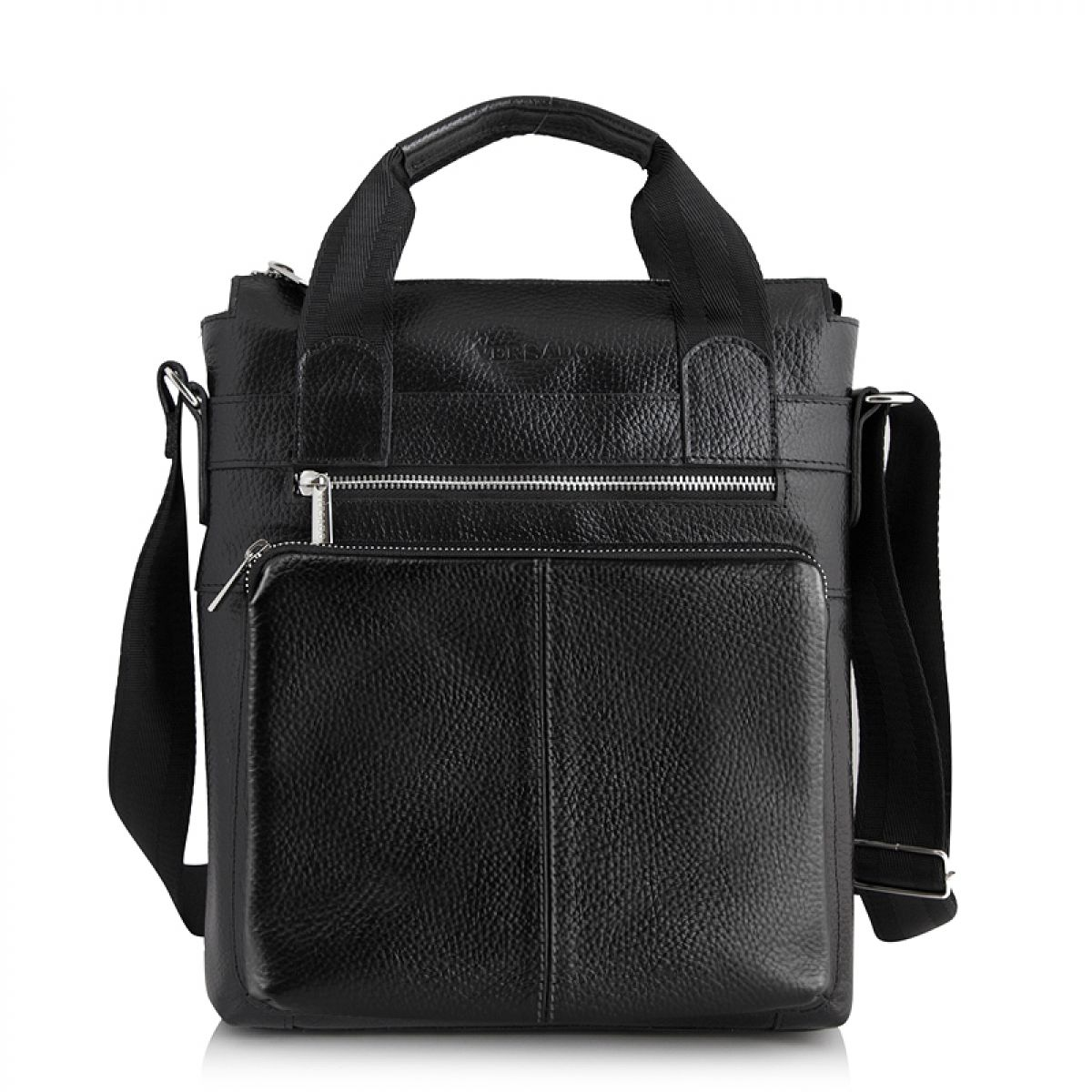 сумки из вощеной кожи черного цвета купить