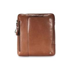 Коричневая мужская сумка планшет из натуральной кожи, подходит для переноски iPad от Visconti, арт. Roy ML20 (M) Tan