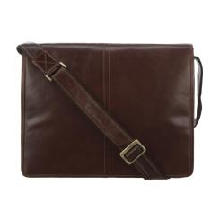 Кожаная мужская сумка через плечо на каждый день от Visconti, арт. Aldo VT-7 Vintage Tan