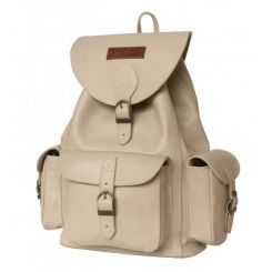 Стильный кожаный рюкзак с одним отделением на утягивающих ремешках от Carlo Gattini, арт. 3015-13