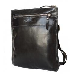 Мужская сумка планшет из гладкой и блестящей натуральной кожи от Carlo Gattini, арт. 5021-05