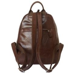 Стильный женский рюкзак из натуральной кожи коричневого цвета от Carlo Gattini, арт. 3013-21