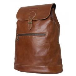 Стильный рюкзак из натуральной кожи, в форме торбы от Carlo Gattini, арт. 3028-03
