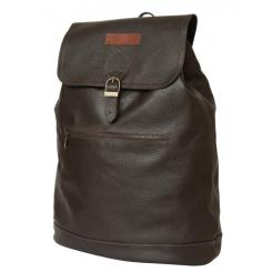 Вместительный городской рюкзак с одним отделением, из натуральной кожи от Carlo Gattini, арт. 3028-04